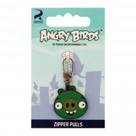 Tirette pour fermeture à glissière Angry Birds - Pig