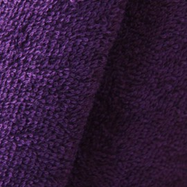 Thalasso towel fabric - Purple x 10cm