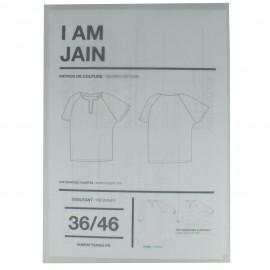 Patron I AM  Top à manches courtes - I am Jain