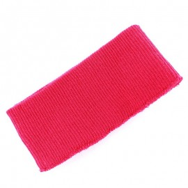 Jacket Ribbing  -  fuchsia