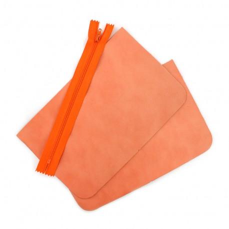 Kit grande pochette cuir - Illium