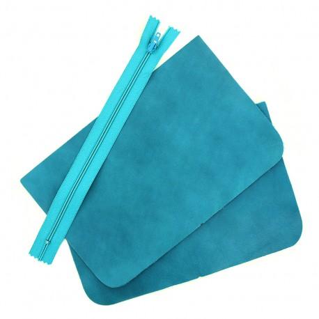 Big leather pocket kit - Capsio