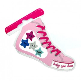 Iron-on patch for shoes - stars