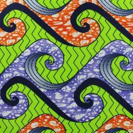 Tissu Wax - Najah x 10cm