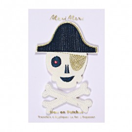 Meri Meri iron on patch - pirate