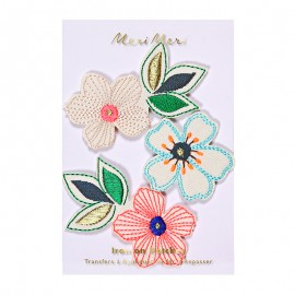 Meri Meri iron on patch - flowers