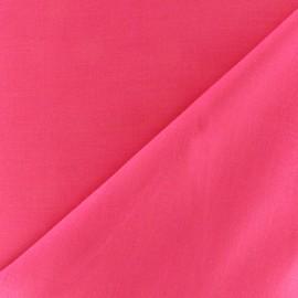 Tissu voile de coton - fuchsia vif x 10cm