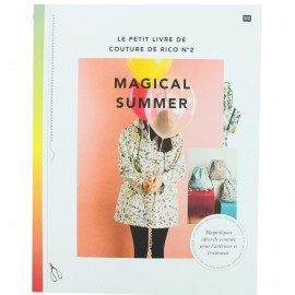 """Book """"Le petit livre de couture de Rico n°2 Magical Summer"""""""