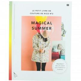 """Livre """"Le petit livre de couture de Rico n°2 Magical Summer"""""""