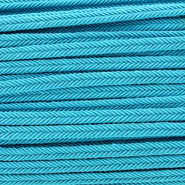 Braid ribbon Amaya - turquoise x 1m