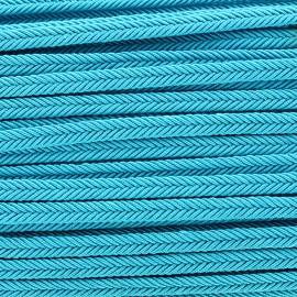 Galon tressé Amaya - turquoise x 1m