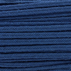 Braid ribbon Amaya - navy x 1m