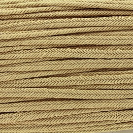 Braid ribbon Amaya - grege x 1m