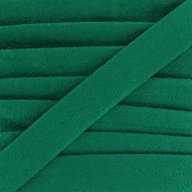 Biais aspect daim - vert x 1m
