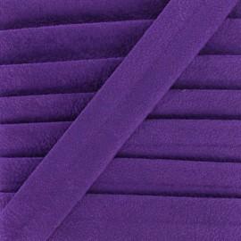 Aspect buckskin bias binding - purple x 1m