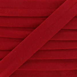 Aspect buckskin bias binding - red x 1m