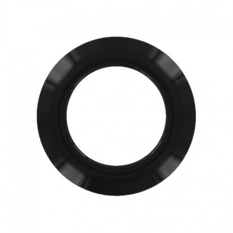 Plastic Eyelet to clip - black