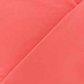 Jogging Jersey Fabric - coral x 10cm