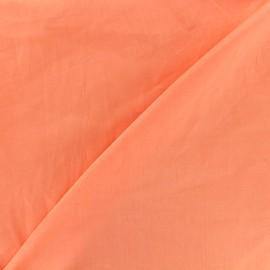 Tissu voile de coton - saumon x 10cm