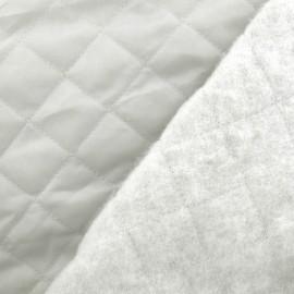 Tissu doublure matelassée gris souris x 10cm