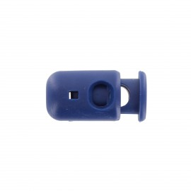 Long cord end - bleu navy x 1