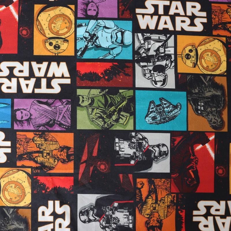 9ddd24fabbe Poplin fabric Star Wars - Comics x 34cm - Ma Petite Mercerie