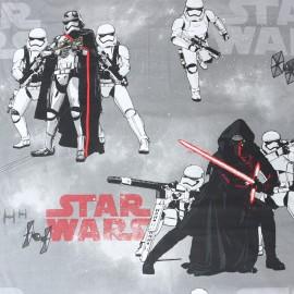 Cotton fabric  Star Wars Original - grey x 63cm