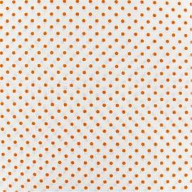 Little Dots Fabric - orange / White x 10cm