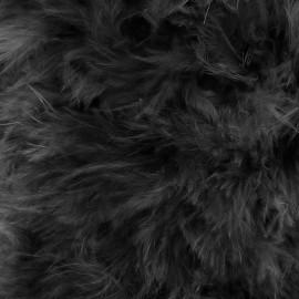 Marabout Soft - noir x 50cm