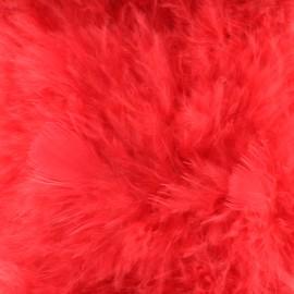 Marabout Soft - rouge x 50cm