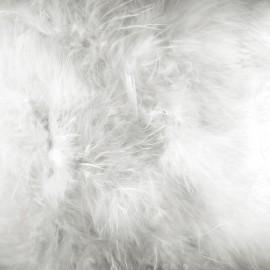 Marabout Soft - blanc x 50cm