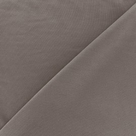 Tissu jersey Modal Polo - taupe foncé x 10cm