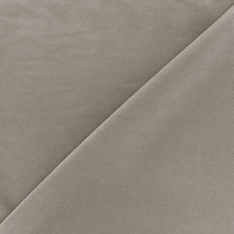 Jersey fabric Modal Polo - grege x 10cm