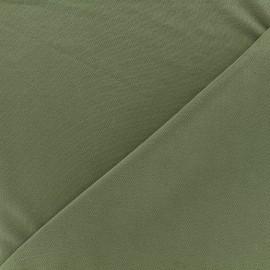 Jersey fabric Modal Polo - sauge green x 10cm