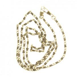 Chaîne de sac 1m20 - vieux or