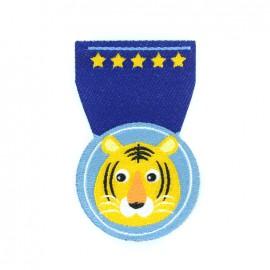 Thermocollant Animals medal - tigre