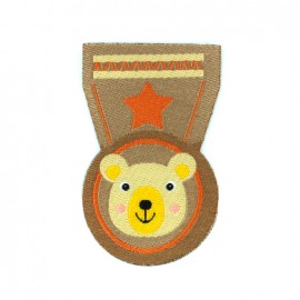 Thermocollant Animals medal - ours