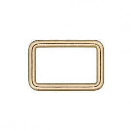 Steel rectangle buckle - gold