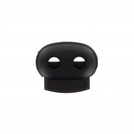 Arrêt cordon 25mm - noir