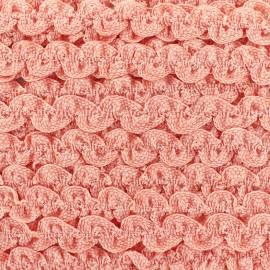 Serpentine élastique unie - rose x 1m