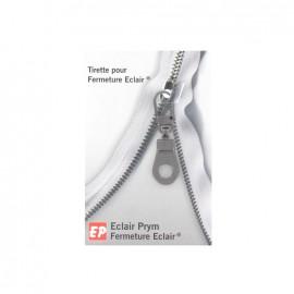 ♥ Eclair Prym Médaille Zipper pull - old silver ♥
