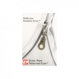 Eclair Prym Médaille Zipper pull - bronze
