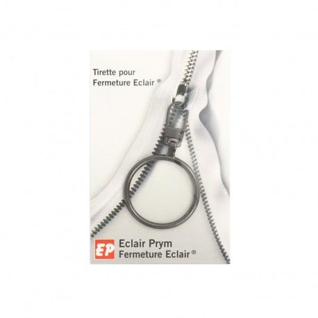 Eclair Prym Anneau Zipper pull - old silver