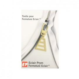 Eclair Prym Delta Zipper pull - gold