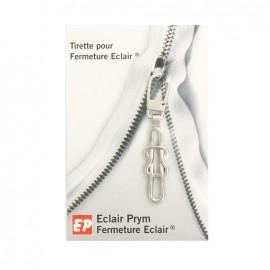Eclair Prym Noeud Zipper pull - silver