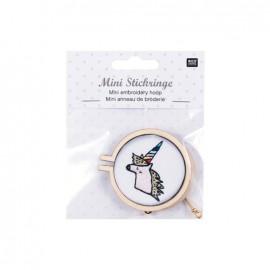 Mini embroidery hoop - 55 mm