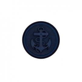 Bouton polyester Anchor - marine
