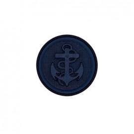 Polyester button Anchor - navy