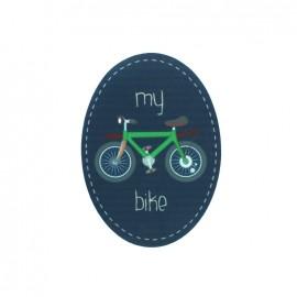 Thermocollant Kids Transport toile ovale - my bike
