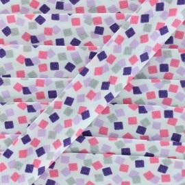 Funny cubes bias - pink x 1m